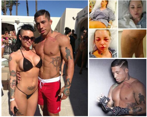MMA fighter Jonathan Paul Koppenhaver, on trial for brutalizing porn star girlfriend, and Christine Mackinday, AKA Christy Mack, claims he was acting out their sexual fantasies